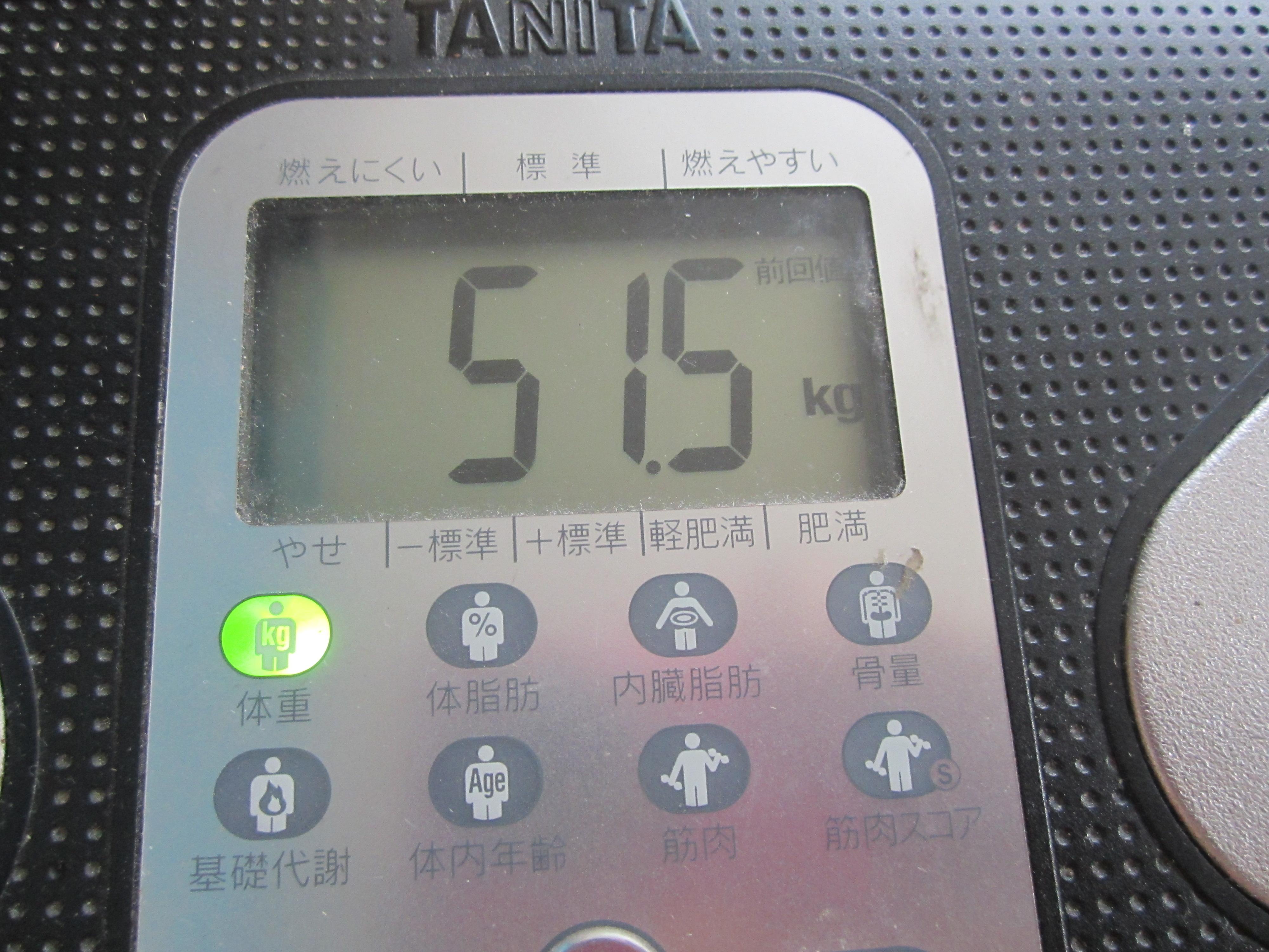 キロ 体重 50